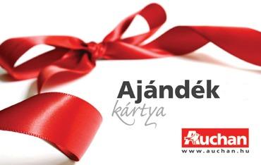 Auchan Ajándékkártya 758c254620