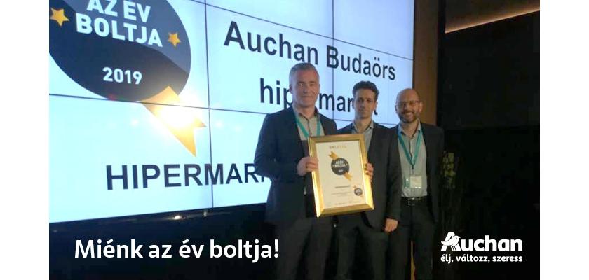 797c2d4812cd A díjnyertes Auchan hipermarket 21 éve nyílt meg Budaörsön és az Auchan  első és legrégebbi üzlete Magyarországon. A 2017-18-ban teljesen megújult  áruház ...